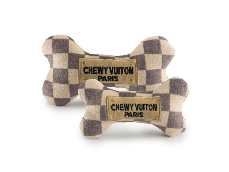 Haute Diggity Dog  Chewy Vuiton Checker Bone