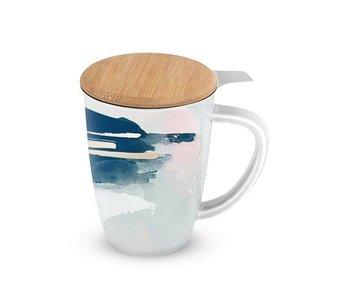 Abstract Ceramic Tea Mug