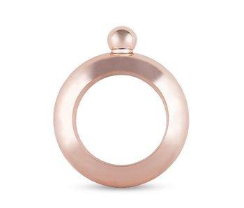 Rose Gold Bracelet Flask