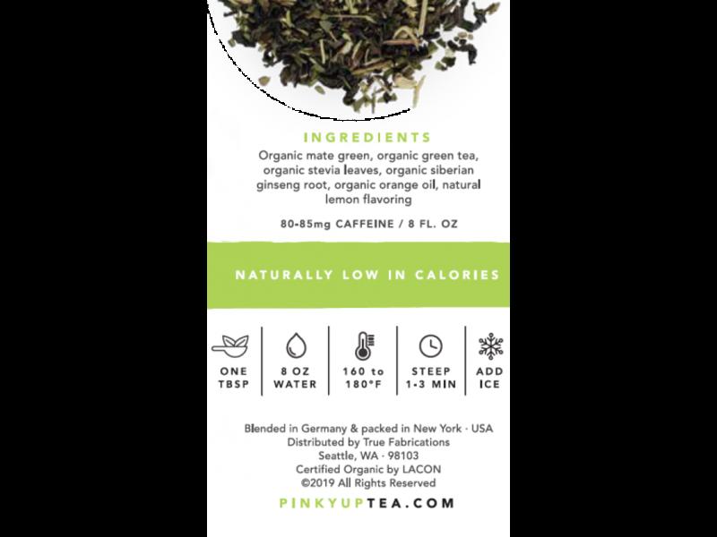 True Brands Green Gummy Loose Leaf Tea