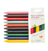 Eco-Kids Beeswax Eco-Crayon 10 pack