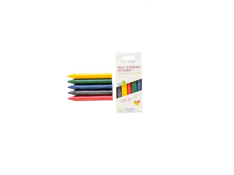 Eco-Kids Beeswax Eco-Crayon 5 pack