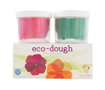 Flower Eco-Play Dough 2 Pack