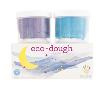 Moon Eco-Play Dough 2 Pack