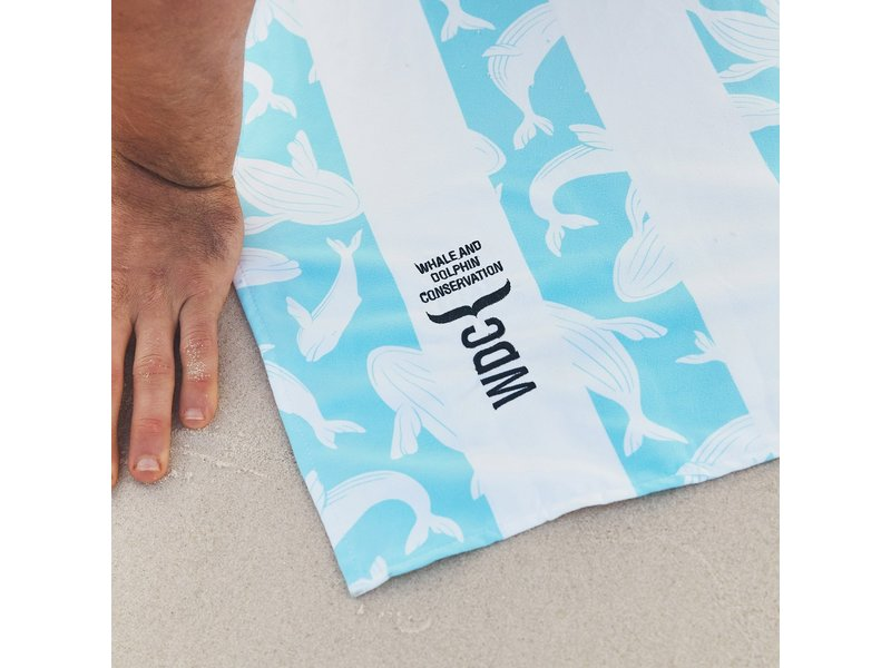 Doc & Bay Whale & Dolphin Conservation Cabana Beach Towel