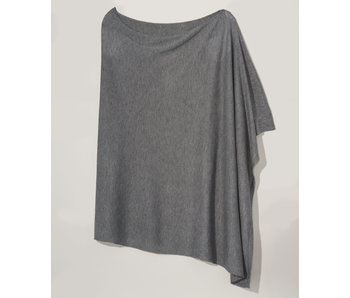 An Everyday Charcoal Poncho
