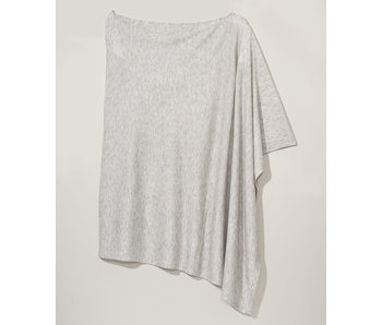 An Everyday Silver Poncho