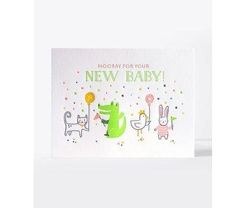 Baby Parade Greeting Card