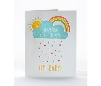 Showering of Love Greeting Card