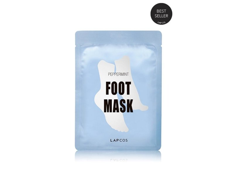LAPCOS Peppermint Foot Mask