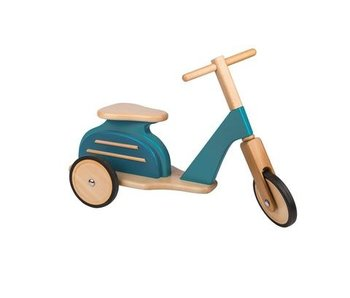Blue Scooter
