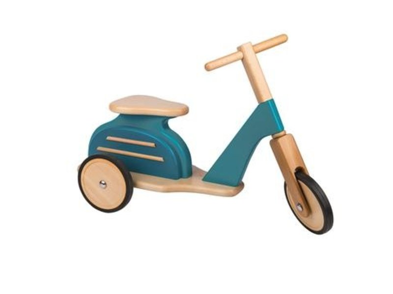 Magic Forest Blue Scooter