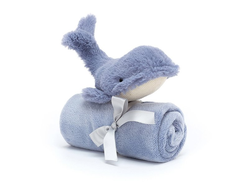JellyCat Inc Wilbur Whale Soother