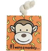 JellyCat Inc If I Were a Monkey Book