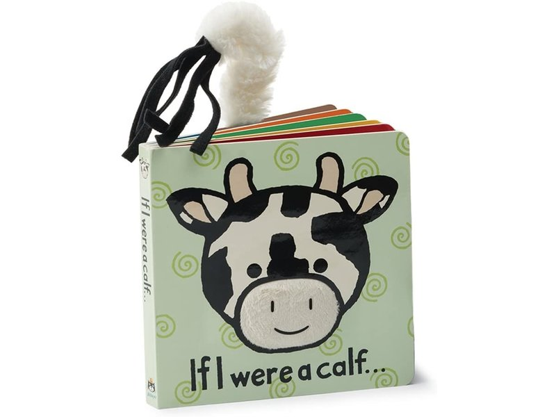 JellyCat Inc If I Were a Calf Book