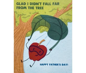 Apple Tree Father's Day Greeting Card