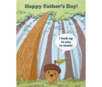 Look Up Father's Day Greeting Card