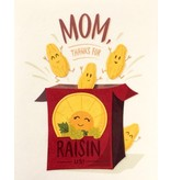 Good Paper Raisin Mothers Day Greeting Card