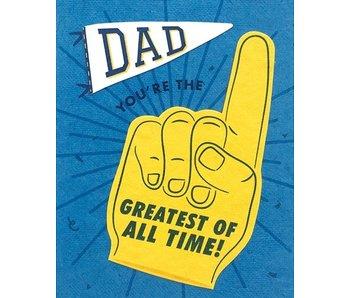 Dad GOAT Greeting Card