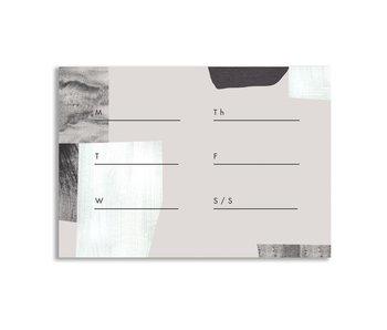 Weekly Pad Desktop Notepad