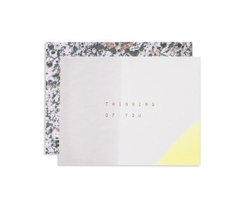 Dipped Thinking of You Greeting Card