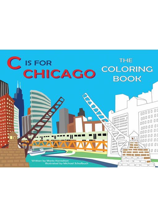 C is For Chicago Coloring Book