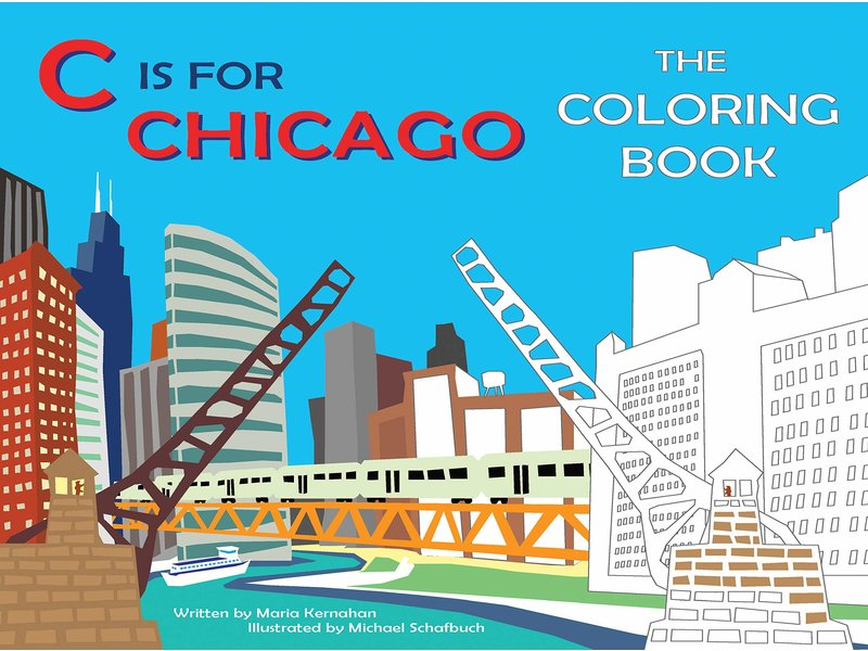 Baker & Taylor Publisher C is For Chicago Coloring Book