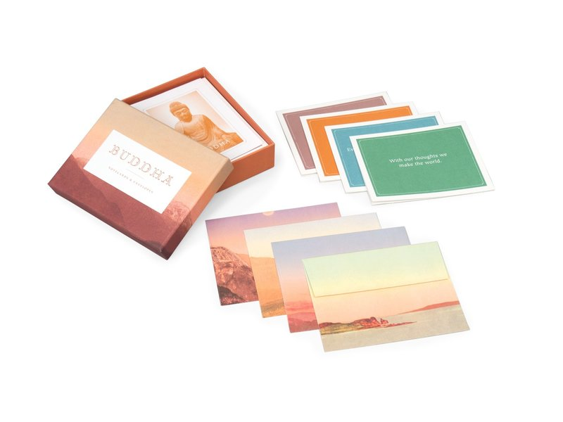 Chronicle Books Buddha Boxed Notecards
