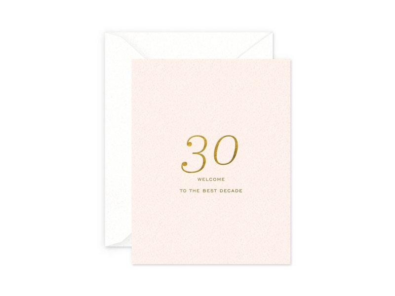 Smitten on Paper 30 Best Decade Birthday