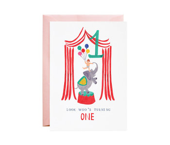 One Ellie Elephant Birthday