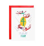 Mr. Boddington's Four Mischievous Monkeys Birthday
