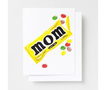Love You Mom Riso Greeting Card