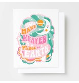 Yellow Owl Workshop You Make Heaven A Place On Earth Card
