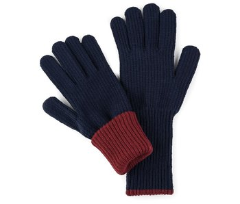 Ribbed Long Gloves