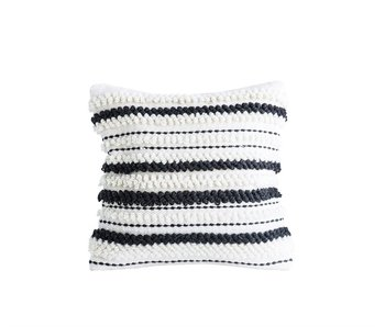 Woven Wool Throw Pillow