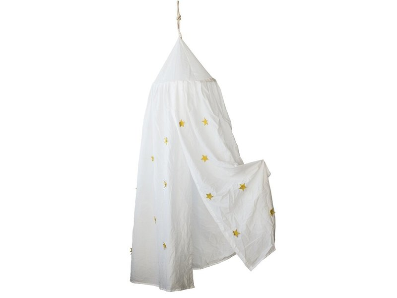 Bloomingville Bed Canopy with Appliqued Stars