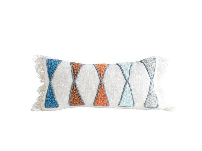 Bloomingville Cotton Lumbar Pillow
