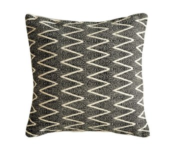Square Chevron Cotton Pillow