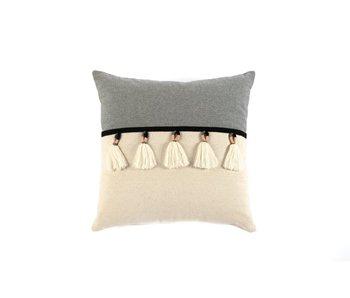 Kuzco Tassel Pillow Ivory