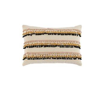 Kuzco Pompom Pillow Ivory