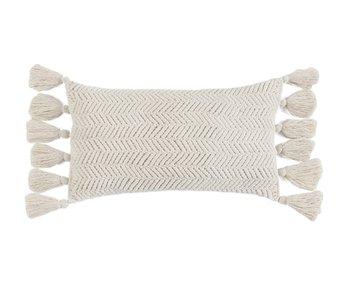 Samara Pillow Ivory