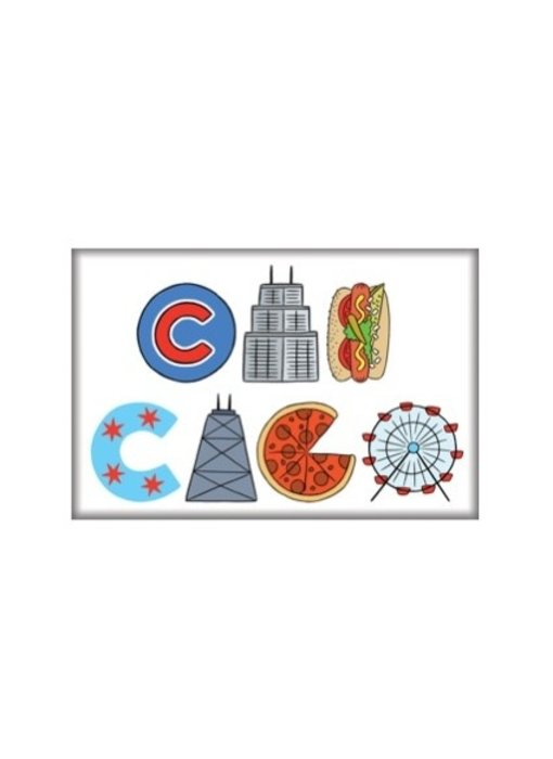 Chicago Icons Magnet