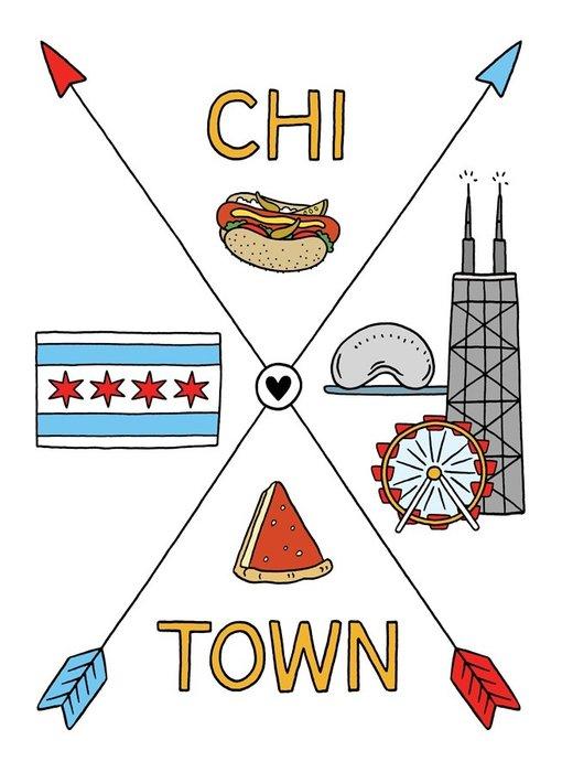 Chi-Town Arrows Postcard