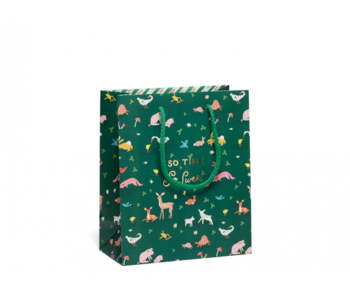 Tiny Animals Foil Baby Bag