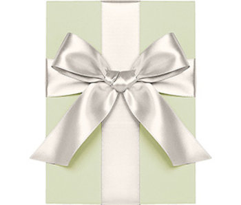 Satin Ivory Ribbon