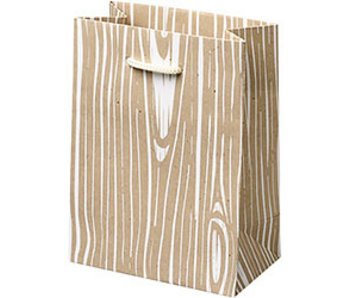 Woodgrain Small Gift Bag