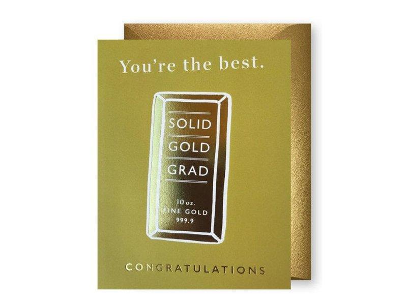 J. Falkner Solid Gold Grad