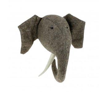Elephant with Tusks Large
