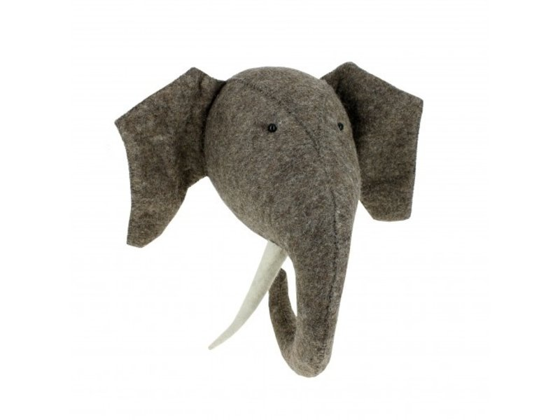 Fiona Walker Elephant with Tusks Large