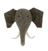 Fiona Walker Elephant with Tusks Large